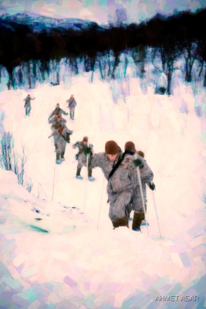 Soldiersin the Arctic Circle by Adam Asar