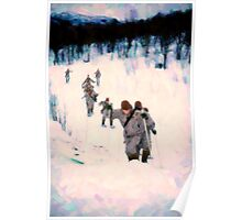 Soldiersin the Arctic Circle Poster