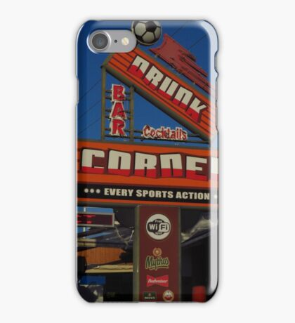 Drunk Corner Bar, Kalamaki, Zante iPhone Case/Skin
