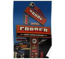 Drunk Corner Bar, Kalamaki, Zante Poster