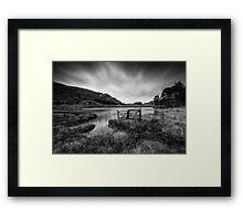 BleaK Tarn Framed Print