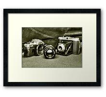 Classic Cams  Framed Print