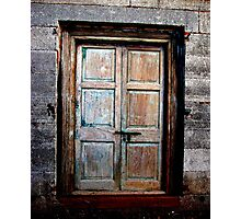 Rustic Entry Photographic Print
