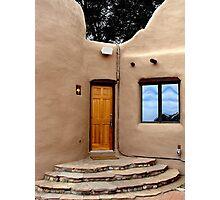 Adobe Door Photographic Print