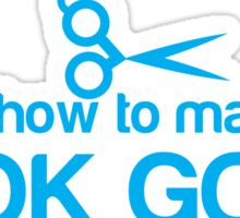I know how to make you look GOOD! Hair stylist hairdresser funny Sticker