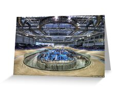 Sir Chris Hoy Velodrome || Emirates Commonwealth Arena, Glasgow Greeting Card