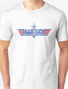 Custom Top Gun Style - Maverick T-Shirt