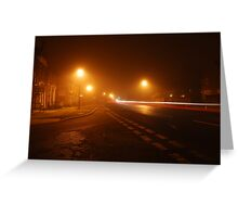 Ilford by Night Greeting Card