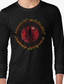 Another Eye in Elvish Lettering Long Sleeve T-Shirt