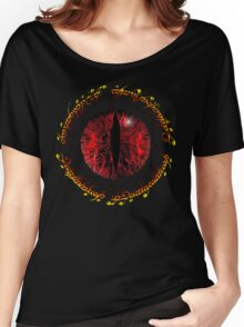 Another Eye in Elvish Lettering Women's Relaxed Fit T-Shirt