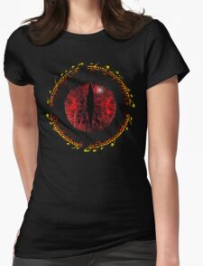 Another Eye in Elvish Lettering Womens Fitted T-Shirt