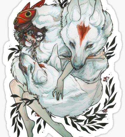 Wolf Child Sticker