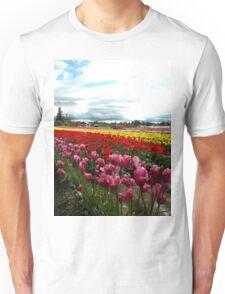 Blossoming Rainbow Unisex T-Shirt