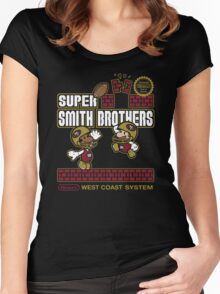 Super Smith Brothers (faded) Women's Fitted Scoop T-Shirt
