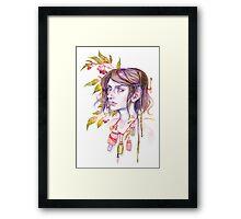 Cure Framed Print