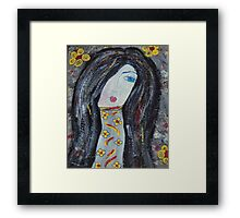 Little Miss Humbleness Framed Print
