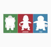 I Choose You: Kanto Starters Kids Clothes