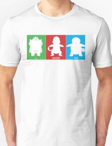 I Choose You: Kanto Starters T-Shirt