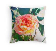 Intuition Rose Throw Pillow