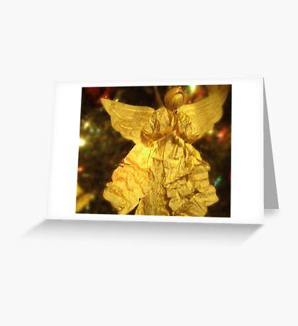 PAPER ANGEL Greeting Card