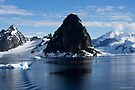Reflecting on Antarctica 039 by Karl David Hill