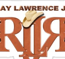 Ray Lawrence Jr. Logo T-shirt Sticker