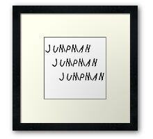 Jumpman Framed Print