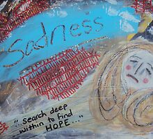 Sadness by Inner Child Art