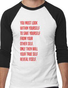Zuko - Yourself Men's Baseball ¾ T-Shirt