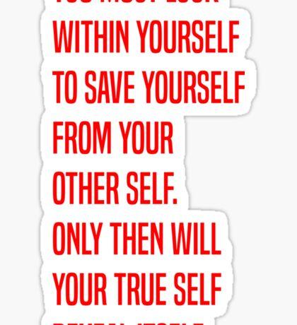 Zuko - Yourself Sticker
