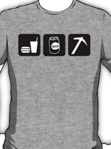 Eat Drink Beer Rockhound T-Shirt
