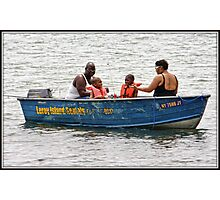The Family That Fishes Together Photographic Print