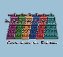 Exterminate the Rainbow Kids Clothes