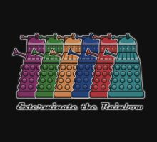 Exterminate the Rainbow Kids Clothes