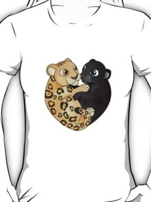 Leopard Panther Love T-Shirt