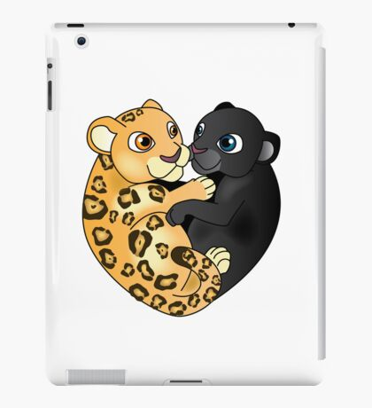 Leopard Panther Love iPad Case/Skin