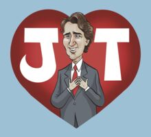 I heart Justin Trudeau One Piece - Short Sleeve