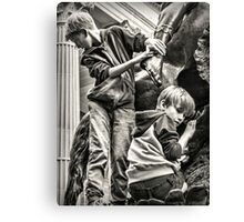 At the Rally Canvas Print
