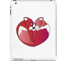 Fox love 2 iPad Case/Skin