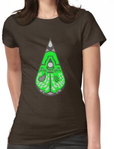 Dalek Abstract Green  Womens Fitted T-Shirt