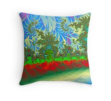 Christmas Island Throw Pillow
