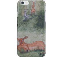 Kangaroos. iPhone Case/Skin