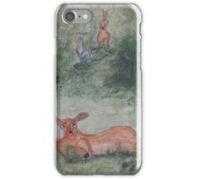 Kangaroos. iPhone Case/Skin