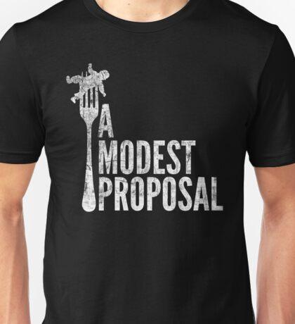 A Modest Proposal (Light) Unisex T-Shirt