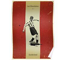 Len Shakleton - Sunderland Poster