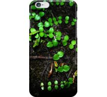 tiny vines iPhone Case/Skin