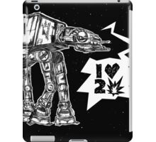 AT LOVES TO CRUSH IT iPad Case/Skin