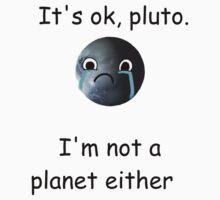 Poor Pluto One Piece - Short Sleeve