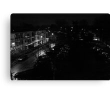 From my balcony, Canvas Print