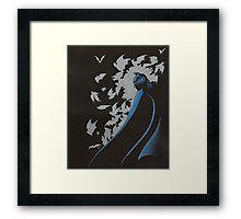 Shroud of Bats Framed Print